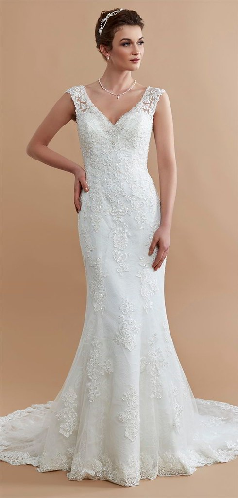 Mermaid Wedding Dresses A All Over Lace Mermaid Style A Flickr