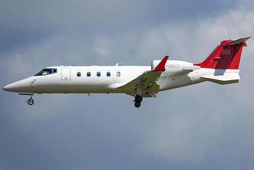 Republic Of Macedonia Learjet 60 Z3-MKD | by wapo84