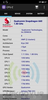 ASUS Zenfone 5 - CPU-Z CPU | by DimeDeviL