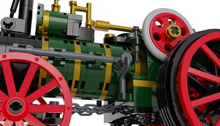 Traction Engine 11 - Lego Ideas | by Bricked1980