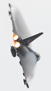 RAF Typhoon full power | by Rik Terpstra Aviation