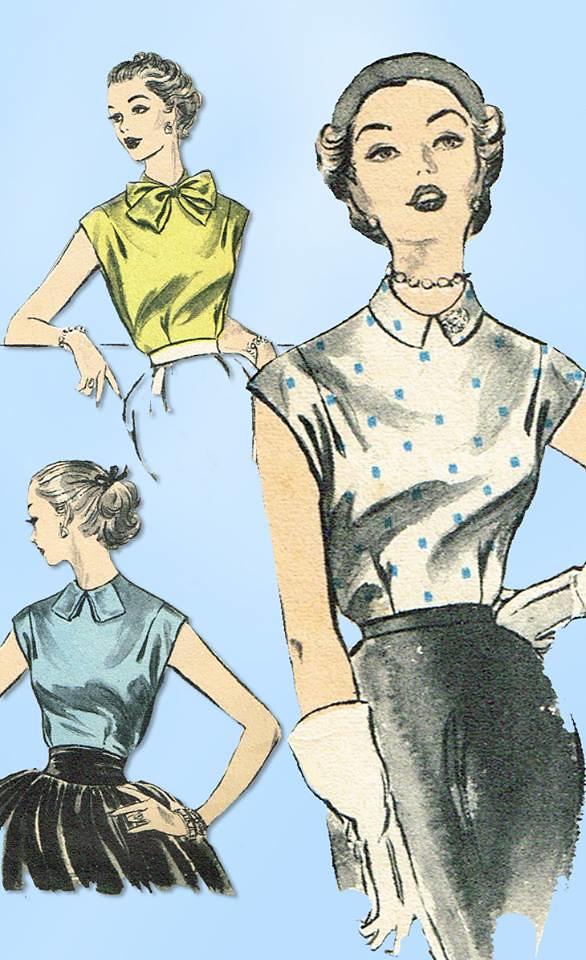1950s Vintage Advance Sewing Pattern Zsfia Vid Flickr