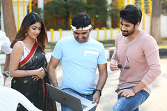 Sailaja Reddy Alludu Movie Working Stills