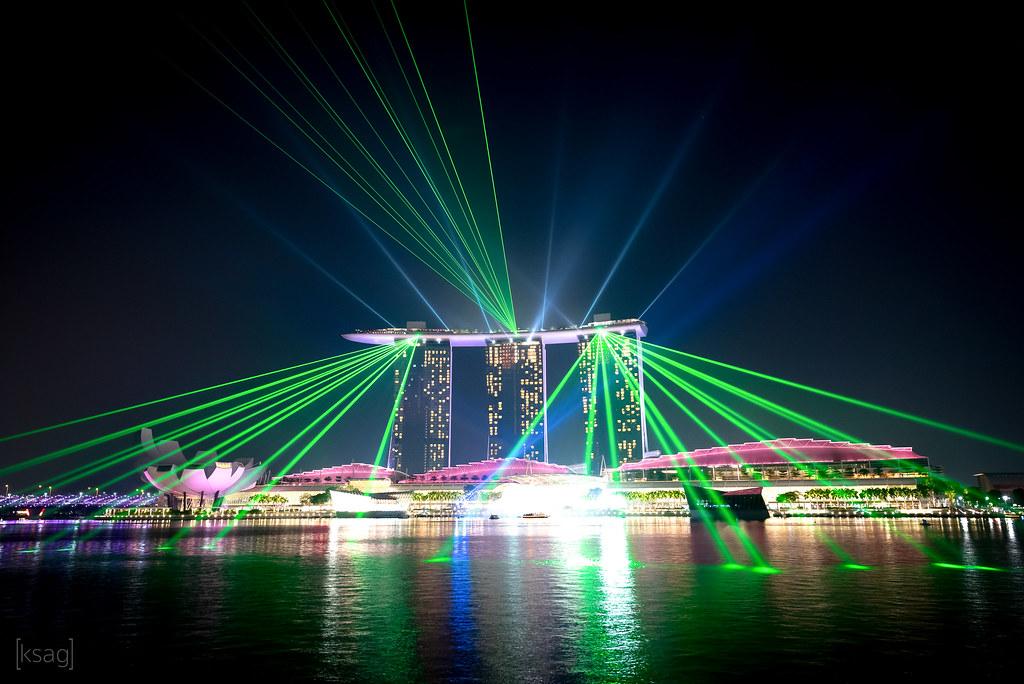 marina bay sands light show singapore to me the marina b flickr