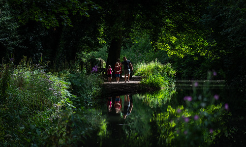 Family Reflections at Cromford Canal.   ( Explored 4.8.18 ) | by pitkin9