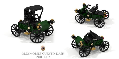 Curved Dash Oldsmobile 1901-1907 | by lego911