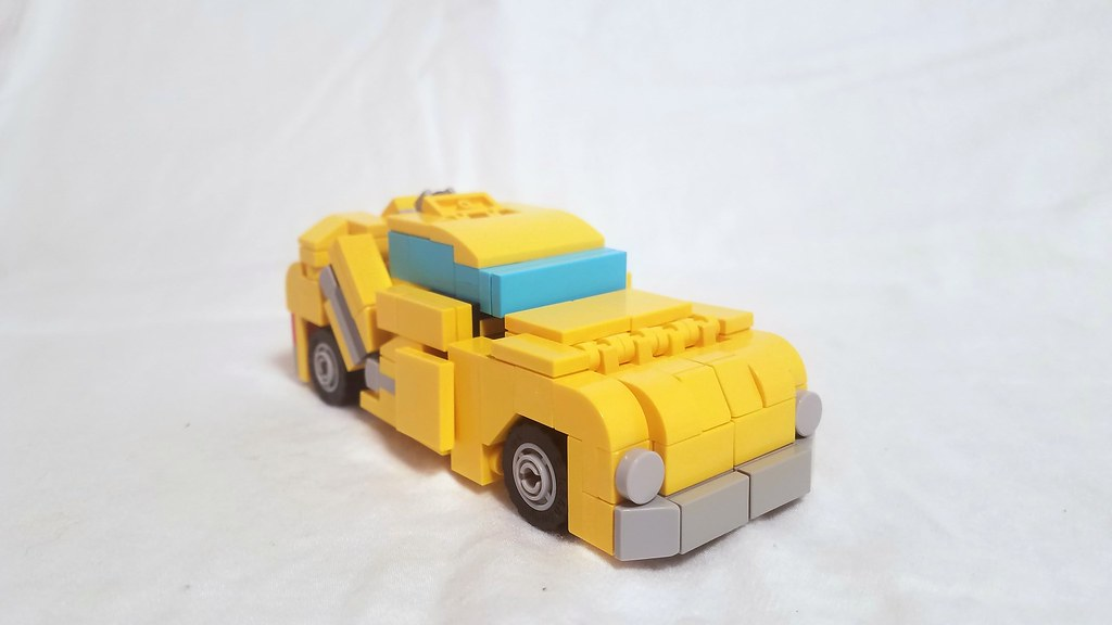 Lego Transformers G1 Bumblebee With Instructions Flickr