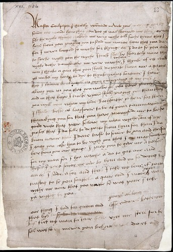 Letter from Queen Catherine Howard to Thomas Culpepper (SP 1/167) | by The National Archives UK