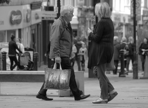 Candid shots in Preston City centre | by Tony Worrall