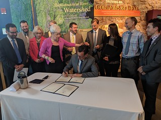 Gov. Malloy Signs Landmark Bills on Climate Change Resiliency and Renewable Energy | by Office of Governor Dan Malloy