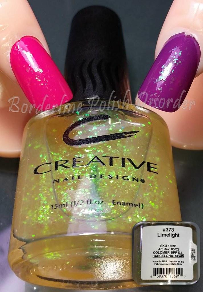 Creative Nail Design Cnd 373 Limelight Borderline Polish Disorder