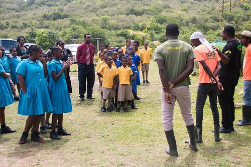 Minister Trevor Prescod visits Nature Fun Ranch | by barbadosgovernmentinformationservice