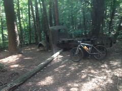 My Bike at the Bull Mountain Truck