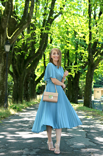 pleated summer dress (01b) | by omniabyolga