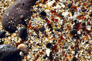 Worn down glass shards, Glass Beach, Hanapepe | by aenigmatēs