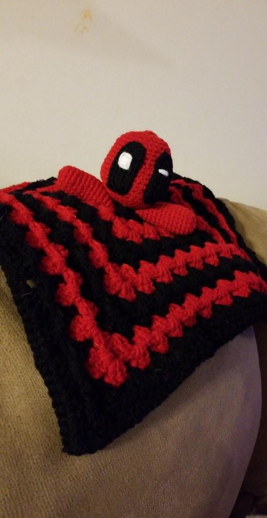 Crochet Babylovey Deadpool Ashley Singer Flickr