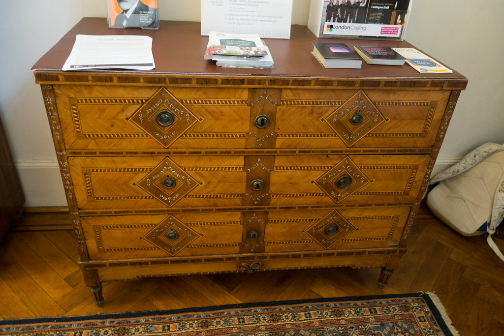 Commode With Marquetry Freud House London 2017 Flickr