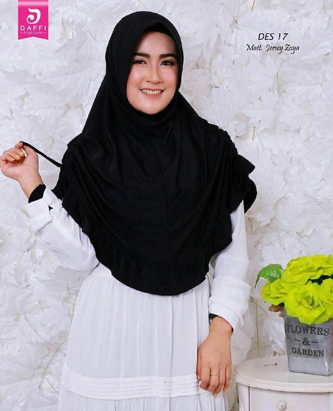 Jilbab Tali Serut Samping Warna Hitam By Daffi Jilbab Tali Flickr