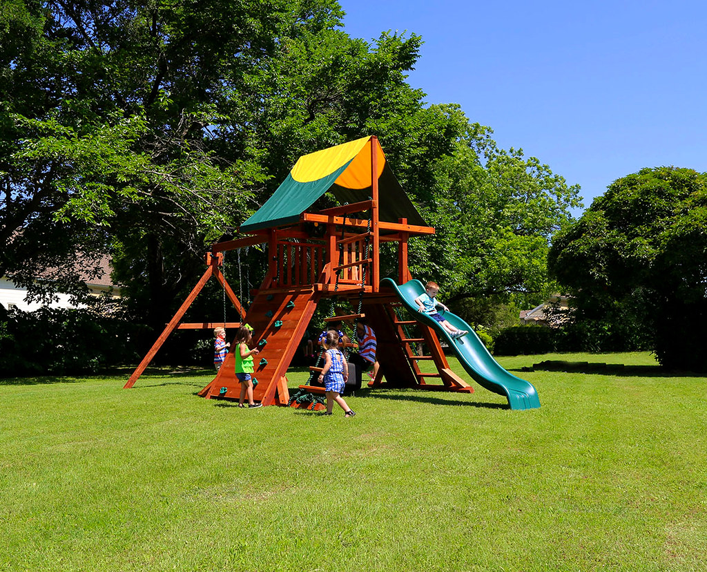 Rustler Swing Set Tarp Roof Rockwall The Rustler Is An Ang Flickr
