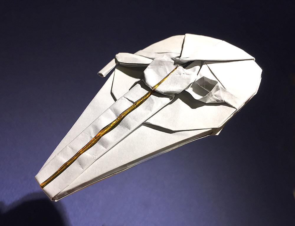 Millennium Falcon Origami Lando Calrissian Version Flickr
