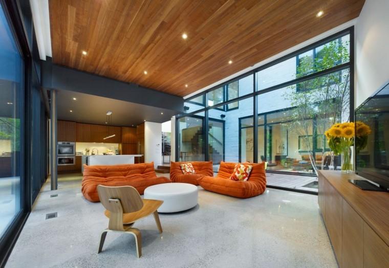 Soffitti In Legno Moderni : Scaffale pavimento soffitto moderno in legno contract