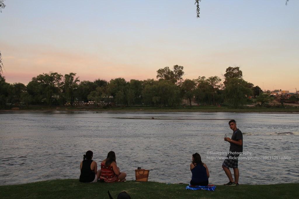 Río Cuarto, Río Cuarto river at sunset | Gunter Hartnagel | Flickr