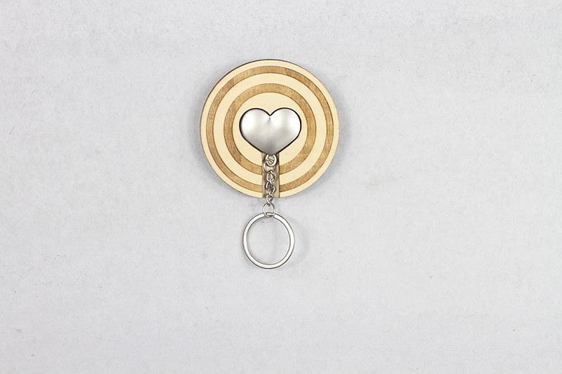 匙圈 客製化 禮物 特色產品 居家 台灣設計 生日 情人節 愛心 療癒 聖誕節 收納 裝飾 吊飾 送禮 中性 木 楓木 胡桃木 鑰匙