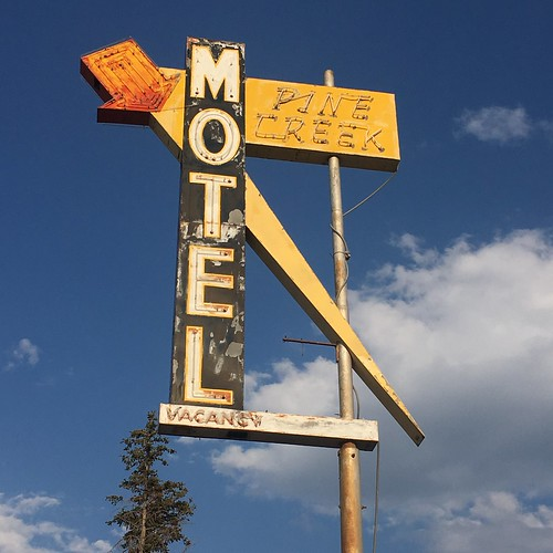 Pine Creek Motel | by montanatom1950