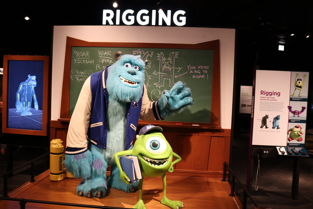 mike and sully from monsters university the science behi flickr
