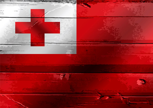 Flag of Tonga themes idea design | by www.icon0.com