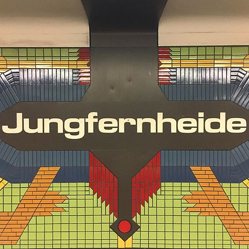 #JungfernHeide #1970s #tiles #ubahnberlin #u7 | by jonworth-eu
