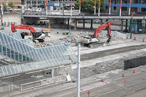 Convention Place platform demolition | by SounderBruce