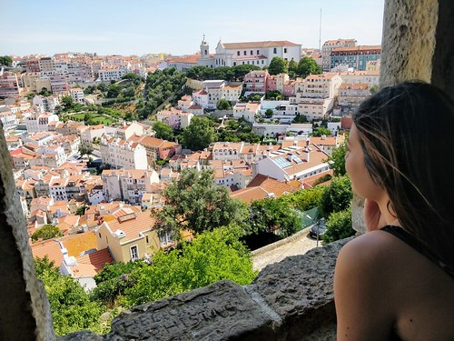 Looking out from Castelo S. Jorge | by thingsnomadsdo