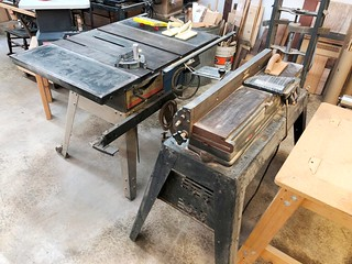 "Craftsman 6"" joiner planer 