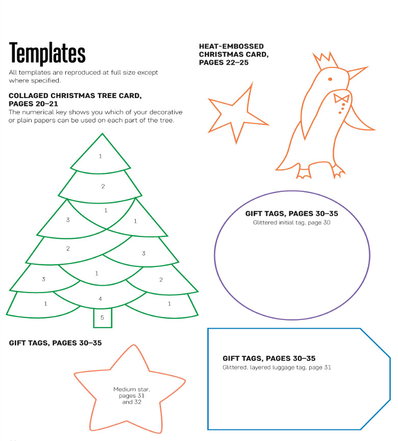 Christmas Tree Template A Free Paper Craft Project From Th Flickr