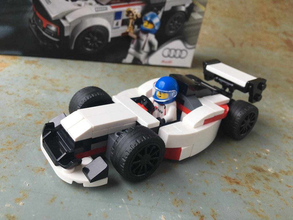 Lego Audi F1 Moc Alternate Model Of Audi R8 Set 75873 Moc Flickr