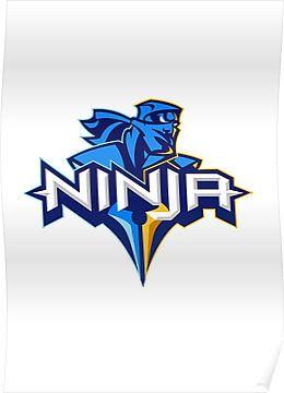 Charming ... Fortnite Wallpaper : Ninja Logo (Twitch) | By Kw GeeK