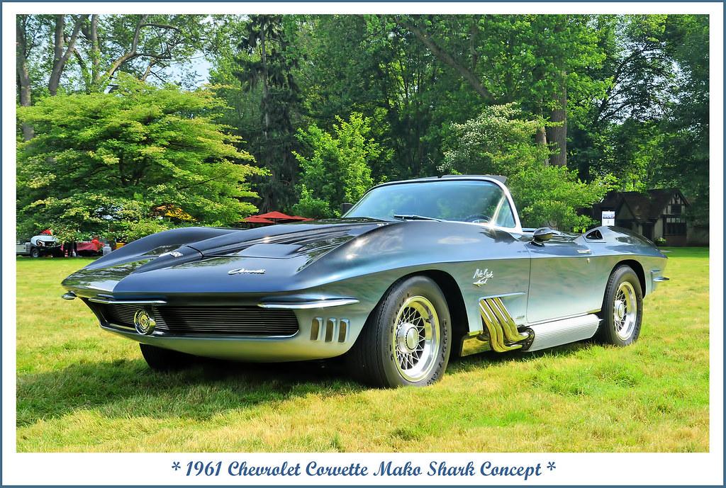 1961 Chevrolet Corvette Mako Shark Concept The June 17 20 Flickr