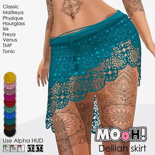 Delilah skirt | by Dalriada Delwood (MOoH!)