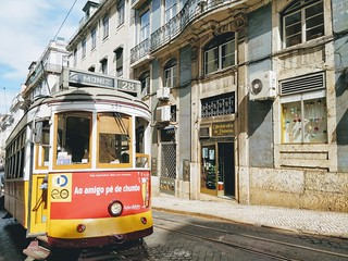 Tram 28 in Lisbon | by thingsnomadsdo