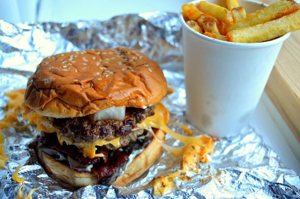 Five Guys Burger All The Way C 2018 Tony Worrall Tony Worrall