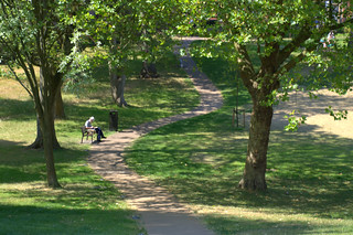Shadows at Winckley Square, Preston | by Tony Worrall