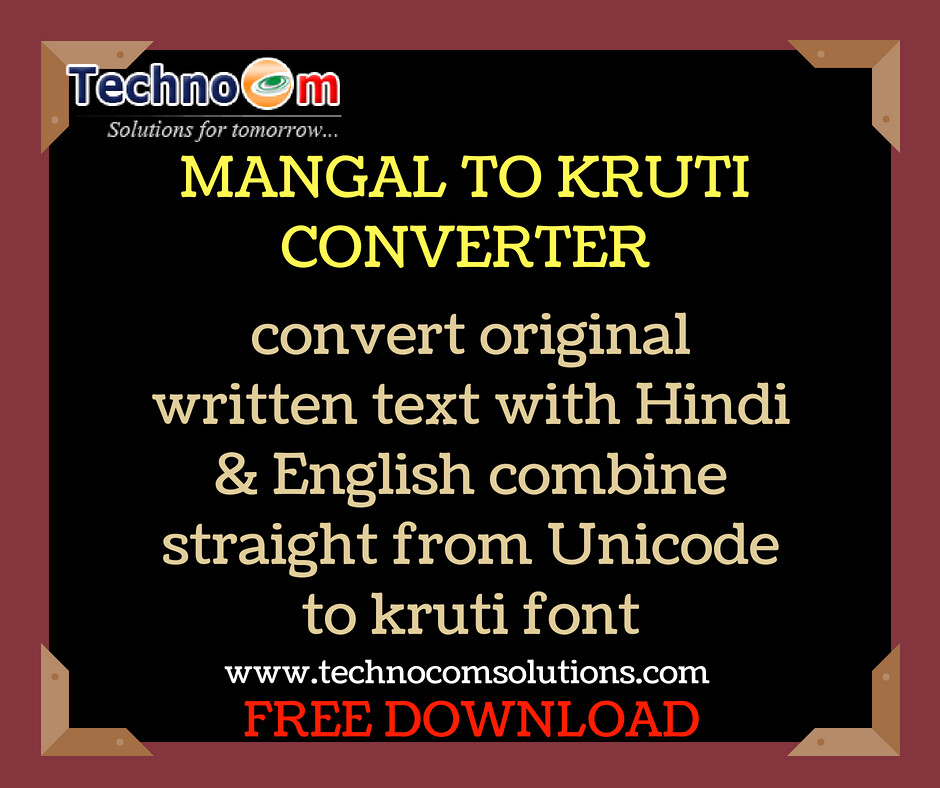 Best Unicode to Kruti Converter Software | Unicode to Hind… | Flickr