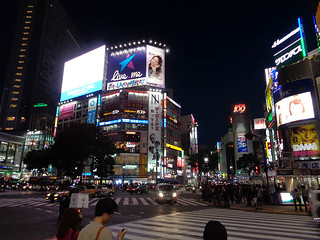 Shibuya by night 08 | by worldtravelimages.net