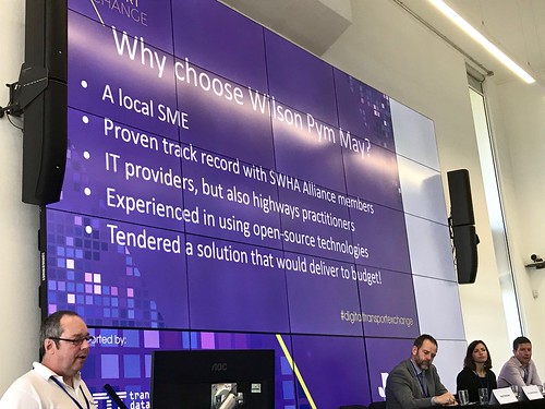 'Highways: Highway Infrastructure Resilience Assessment Modelling Tool. A practitioner led development', by Adam May, Director, Wilson Pym May, at Digital Transport Exchange 2018 | by teresacjolley1