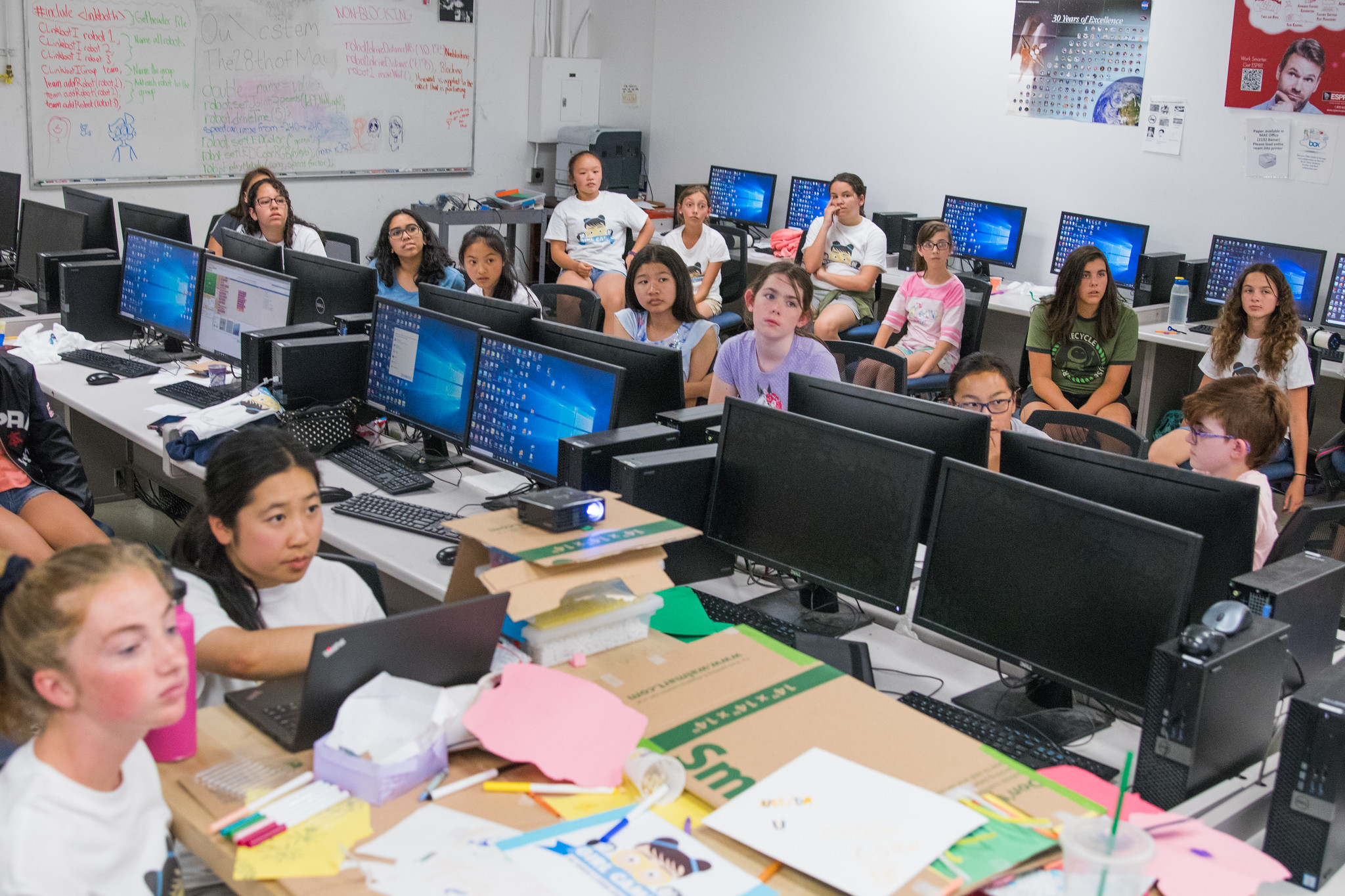 2018 UC Davis C-STEM GIRL Camp