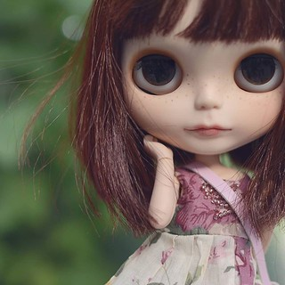 Freckles, I only have two blythes at the moment but I've recently been thinking about adding a third. | by emmr_ {bjd}