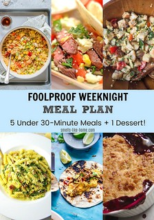 Foolproof Weeknight Meal Plan | by Smells Like Home