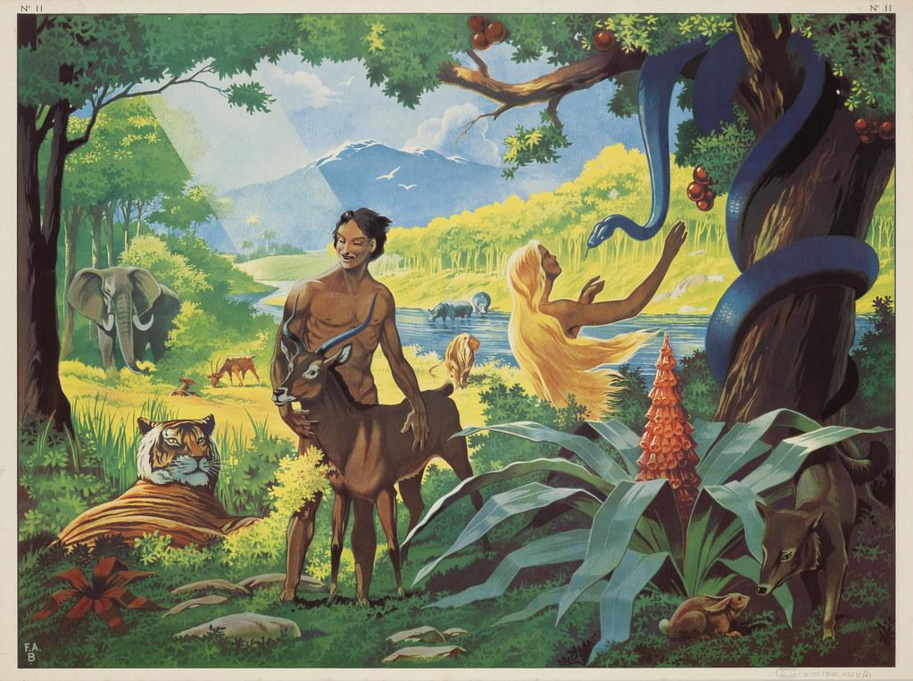 adam et eve au jardin deden - Jardin D Eden