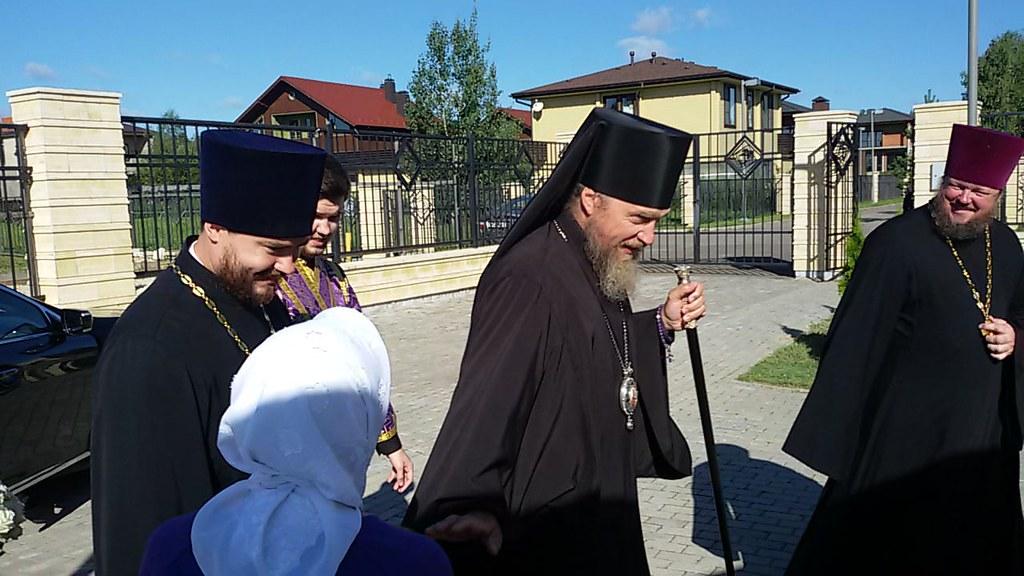14 августа 2018 года Архиерейское богослужение в Крестовоздвиженском храме в Крекшино
